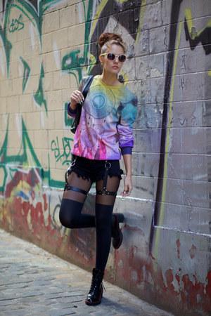 style moi shorts - MrGUGU& Miss GO sweatshirt