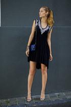 Chicwish dress - Lovelywholesale earrings - Kitsch accessories