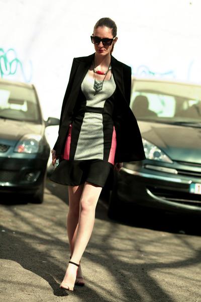 River Island dress - Zara heels