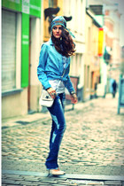 Zara shirt - Guess purse