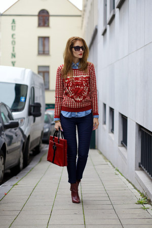 DressLink sweater - CNdirect bag - Newdress pants