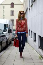 DressLink sweater - CNdirect bag - Newdress pants