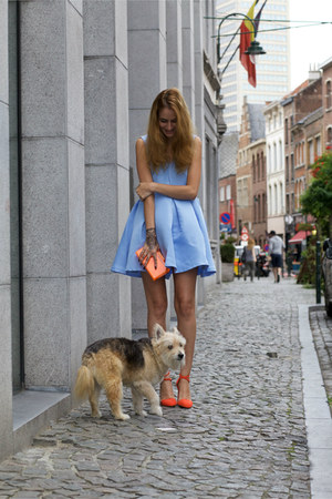 romwe dress - Kitsch accessories