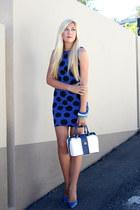 blue Zoom heels