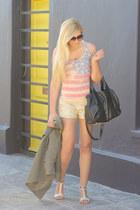 gold sequins Glamorous shorts