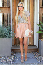 light pink H&M skirt