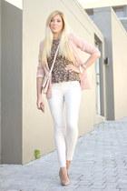 light pink H&M blazer