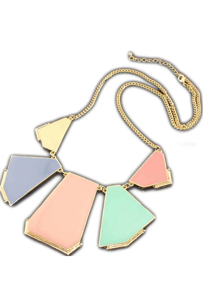 bubble gum statement iCandy necklace