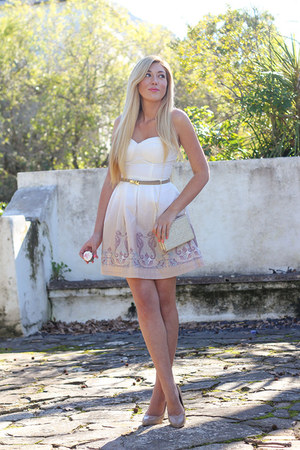 beige Mr Price dress