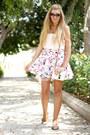 Pink-boohoo-skirt