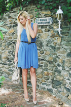 blue Sheinside dress