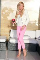 ivory Zara jacket