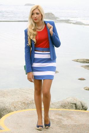 blue Zara blazer