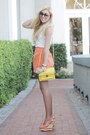 Orange-asos-skirt