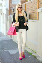 hot pink Windsorstore bag