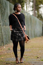 Satchel-dorothy-perkins-bag-lace-up-asos-sandals-tartan-newlook-skirt