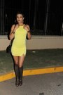 Gojane-boots-missguided-dress