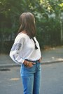Zara-jeans-ethnic-shirt-pull-bear-shirt-watch