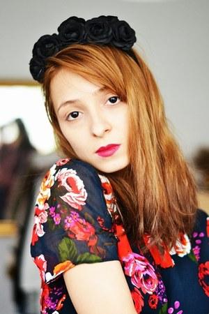 floral print asos dress