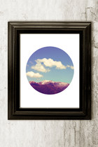 ZoiShop Cloudy Mountain home decor