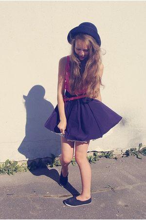 blue STYLESOFIACOM skirt