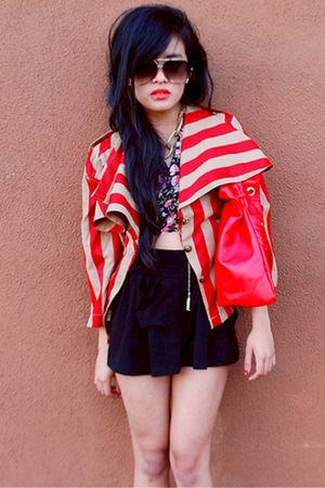 red STYLESOFIACOM blazer