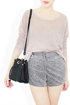 silver StyleSofia shorts