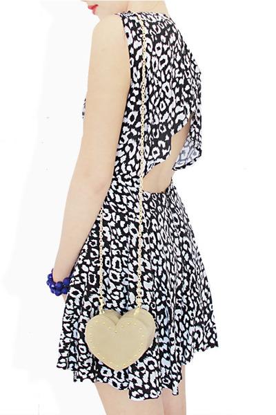 neutral StyleSofia bag - black StyleSofia dress