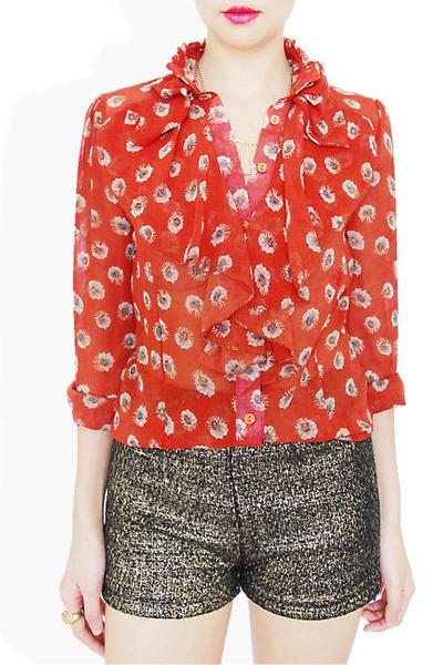 red StyleSofia shirt