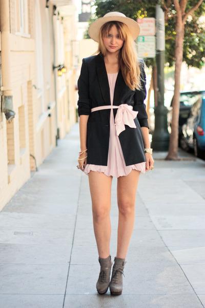 brown STYLESOFIACOM dress