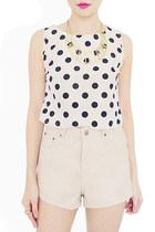 white StyleSofia top