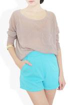 light blue StyleSofia shorts