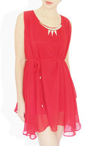 red StyleSofia dress