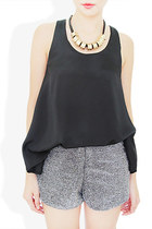 black StyleSofia top