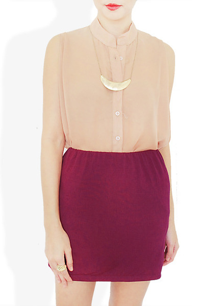 magenta StyleSofia skirt