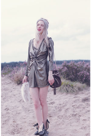 gold StyleSofia dress