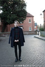 Black-brogues-loake-boots-navy-wool-topman-coat