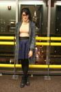 Flea-market-necklace-aldo-shoes-marshalls-sweater-american-apparel-top