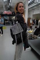 H&M jeans - COS cardigan
