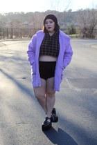 grid American Apparel sweatshirt - beanie Forever 21 hat