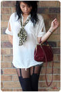 Black-house-of-holland-tights-red-mollini-shoes-red-vintage-bag-white-maui