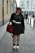 black animal print Primark dress - cream Fashion Pills shoes