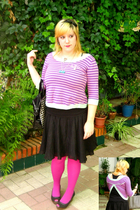Mango coat - Promod skirt - Calzedonia tights - pull&bear shoes