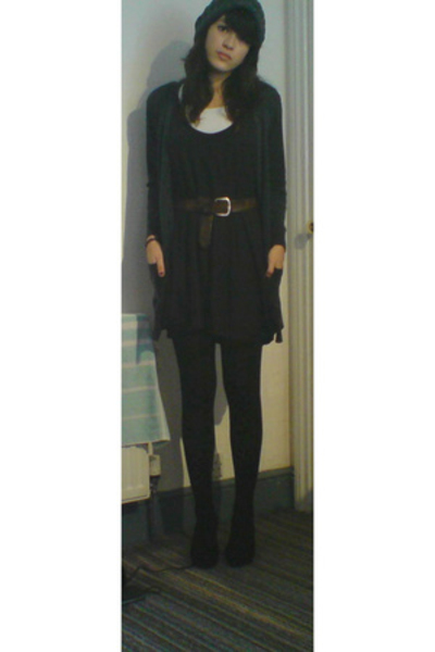 new look dress - H&M t-shirt - Debenhams shoes