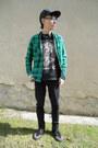 Black-tuk-boots-black-denim-co-jeans-black-etnies-hat-black-gate-jacket
