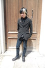 Black-deichmann-shoes-black-denim-co-jeans-black-gap-blazer