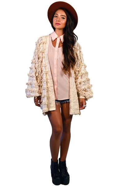 cardigan Saltwater Gypsy Vintage jacket