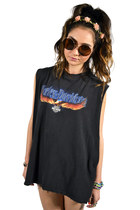 black Vintage Harley Davidson t-shirt
