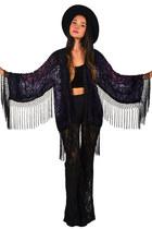 fringe kimono Saltwater Gypsy jacket