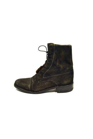 army green Saltwater Gypsy Vintage boots